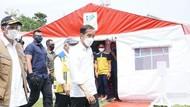 Tinjau Tenda Pengungsi Gempa Sulbar, Jokowi Cek Ketersediaan Logistik