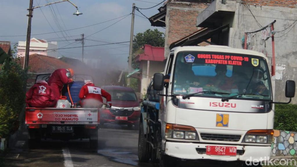 Waduh! 9 Pekan Klaten Zona Merah Corona Gegara Warga Bandel Abaikan Prokes