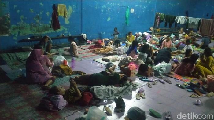 Kondisi terkini banjir di Kota Pekalongan, Jawa Tengah, Selasa (19/1/2021).