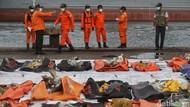 Malam Ini Tim SAR Evakuasi 14 Kantong Jenazah Korban Sriwijaya Air