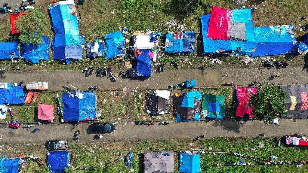 Pengungsi Gempa Sulbar Berkurang Jadi 9.905, Kerusakan Rumah Masih Didata