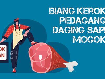 Biang Kerok Pedagang Daging Sapi Mogok