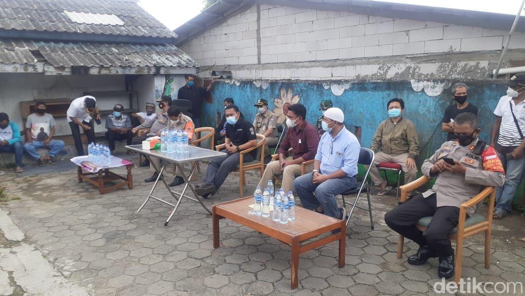 Pertemuan warga atasi tawuran Manggarai, Jakarta Selatan. (Afzal Nur Iman/detikcom)