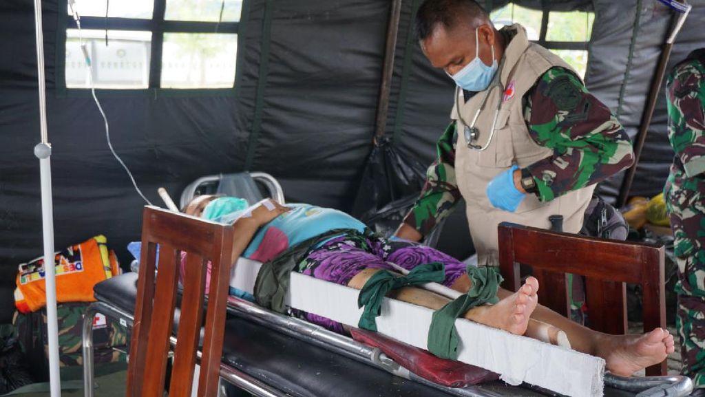 Trauma, Korban Luka Gempa Sulbar Keluar RS Jalani Perawatan di Pengungsian