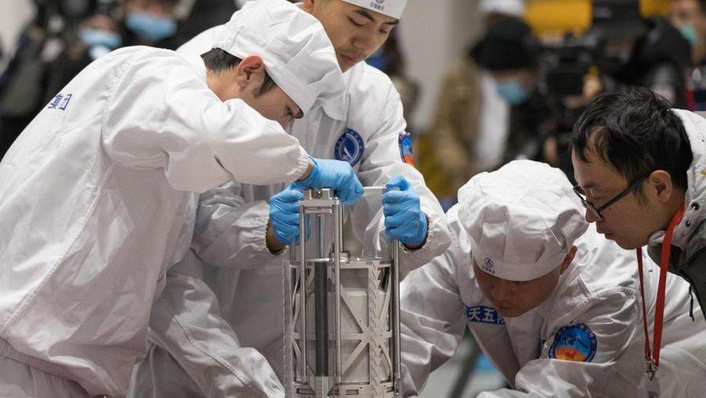 Sampel Bulan yang Dibawa Pulang China Meleset dari Target
