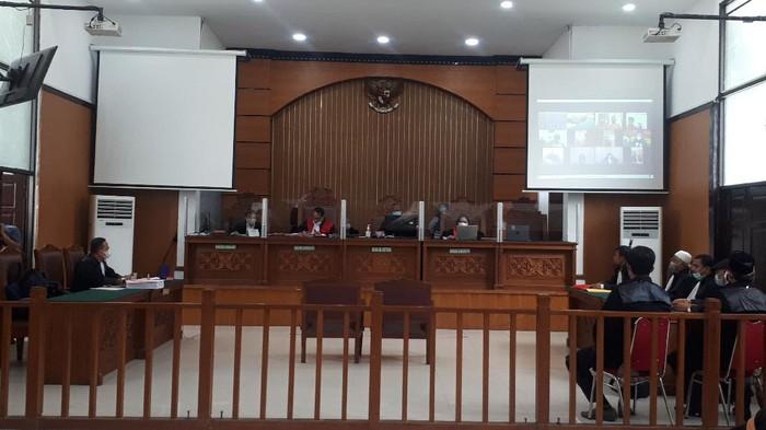 Suasana Sidang Dakwaan Gus Nur di PN Jaksel (Dwi-detikcom)
