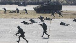 Suasana Militer China-Pakistan-Mongolia-Thailand Latihan Perang Bersama