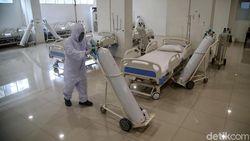 BOR di RS COVID DKI Meningkat, Tempat Tidur Isolasi 78%-ICU 73%