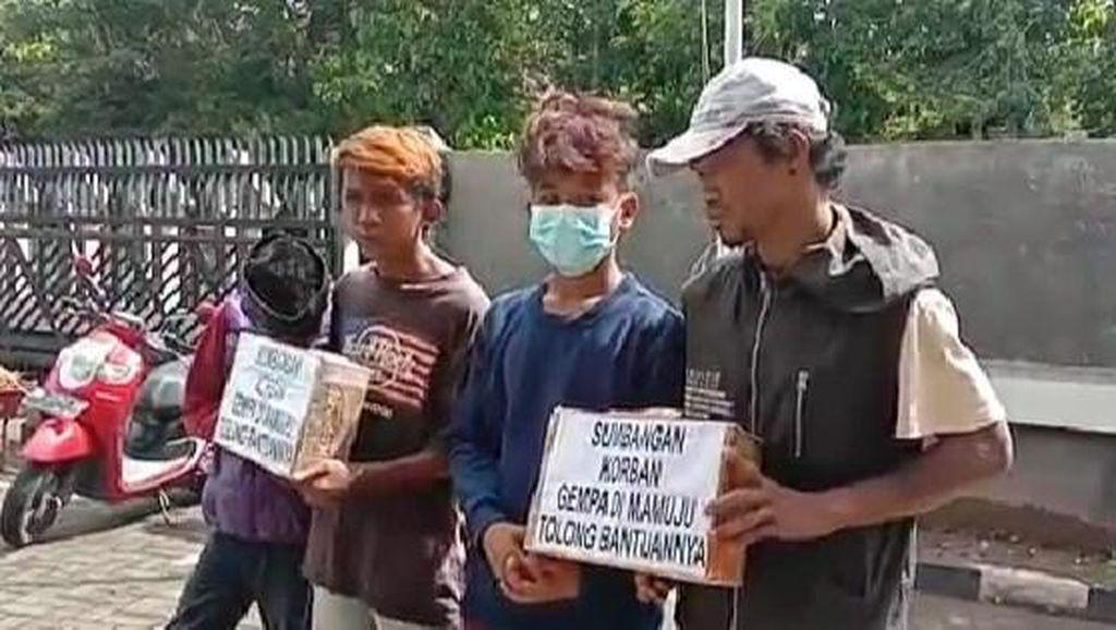 Satpol PP Gowa Amankan 4 Remaja Galang Donasi Gempa Sulbar Diduga untuk Mabuk