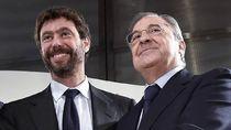 Bos Madrid dan Juventus Bertemu, Bahas Liga Super Eropa?