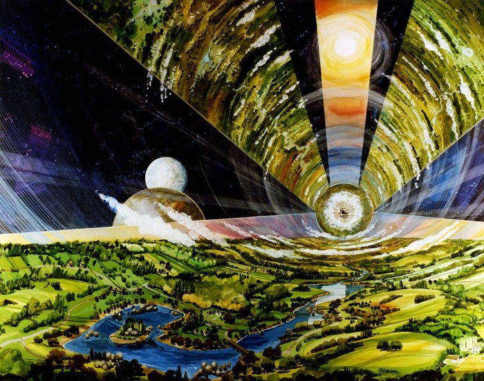 Ilustrasi habitat manusia