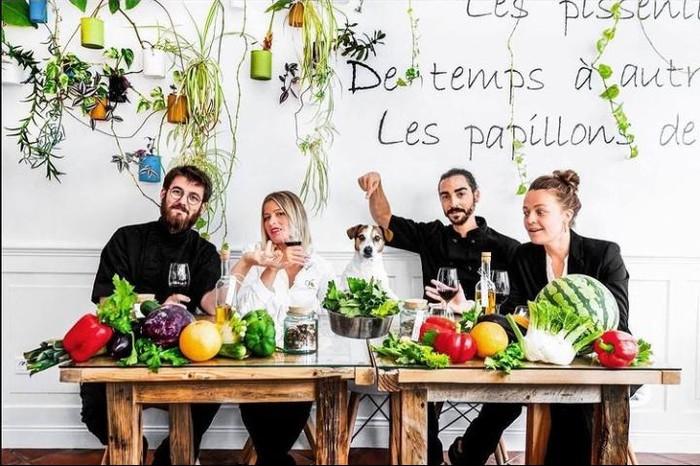 Ini Restoran Vegan Pertama di Prancis Penerima Bintang Michelin
