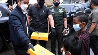 Jokowi hingga Rian DMasiv Kirim  Makanan untuk Korban Banjir Kalsel