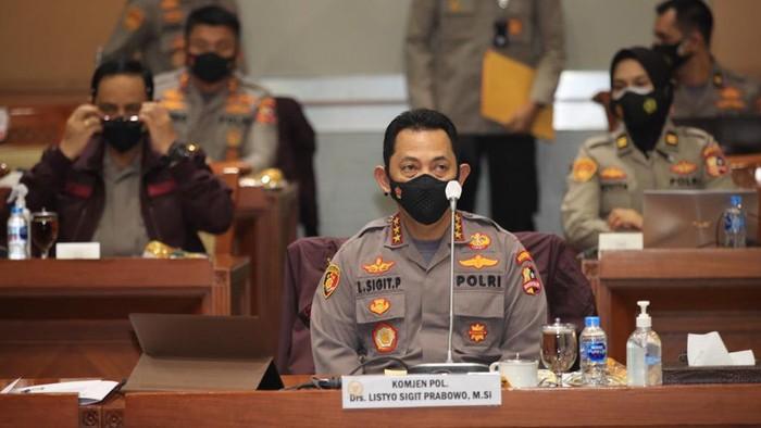 Komjen Listyo Sigit Prabowo mengikuti fit and proper test calon Kapolri di Komisi III DPR