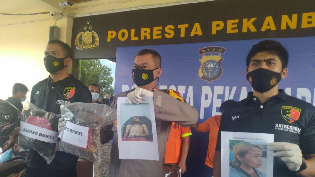 Sejoli di Riau Disiram Air Keras Gegara Viralkan Demo, 4 Pelaku Ditangkap