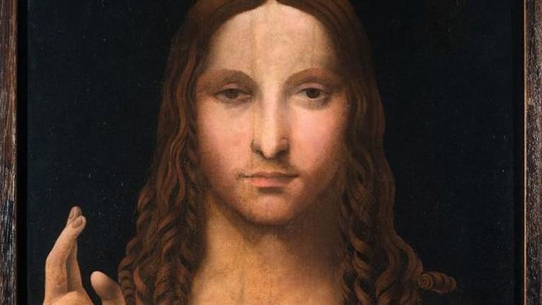 Kopian lukisan Salvator Mundi
