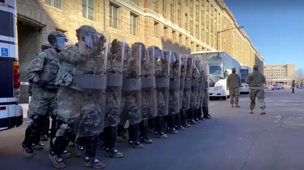 Ada Ancaman, Ribuan Tentara Garda Nasional Terus Berjaga di Ibu Kota AS