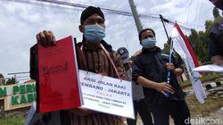 Protes Limbah Kelapa Sawit, Pria Ini Jalan Kaki dari Rembang Temui Jokowi
