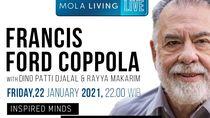 Sutradara The Godfather Blak-blakan Soal Hidupnya di Mola Living Live