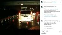 Pajero Sport Pasang Lampu Tembak di Belakang, Netizen: Mobil Apa Odong-Odong?