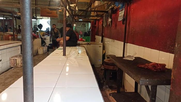 Pedagang daging sapi mogok jualan