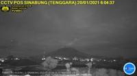 Gunung Sinabung Kembali Erupsi Pagi Ini