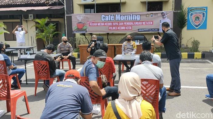 Polisi dan Istri Anggota Polresta Kediri Penyintas COVID 19 Siap Donor Plasma