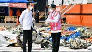 Arahan Jokowi soal Penerbangan dari Lokasi Sriwijaya Air Dievakuasi