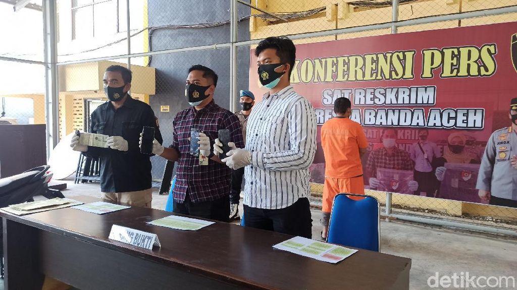 3 Bulan Bebas Berkat Asimilasi, Pria di Aceh Diciduk Lagi Gegara Curi HP