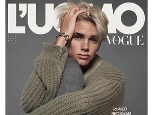 Debut Romeo Beckham Jadi Model Vogue, Wajahnya Disebut Lebih Mirip Victoria
