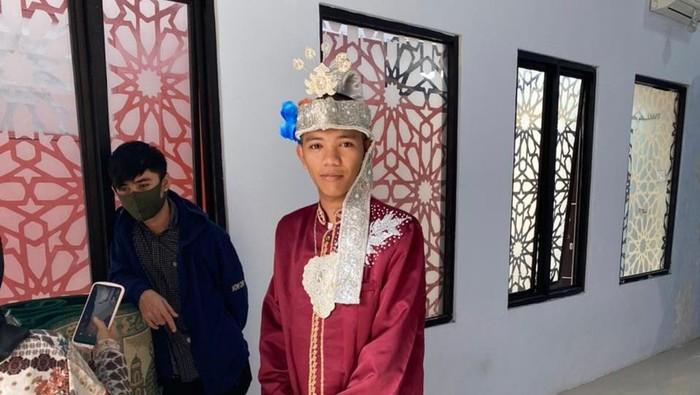Tersangka kasus begal di Makassar nikahi istri di tahanan (dok. Istimewa).