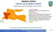 7 Daerah di Jatim Masih Zona Merah COVID-19
