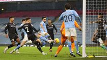 Man City Vs Aston Villa Tanpa Gol di Babak I