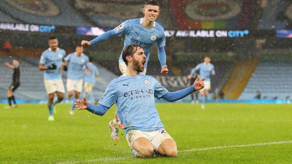 Man City Bungkam Villa, The Citizens di Puncak Klamesen