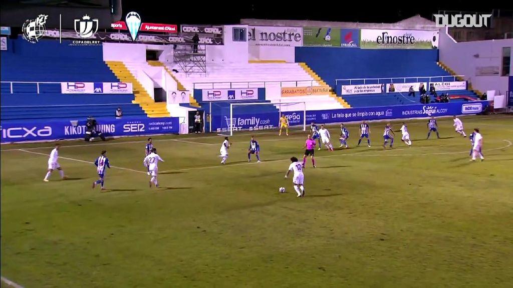 Video Alcoyano Vs Real Madrid: El Real Disingkirkan Tim Divisi Tiga