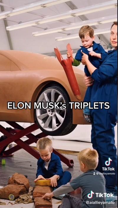Anak-anak Kembar Elon Musk