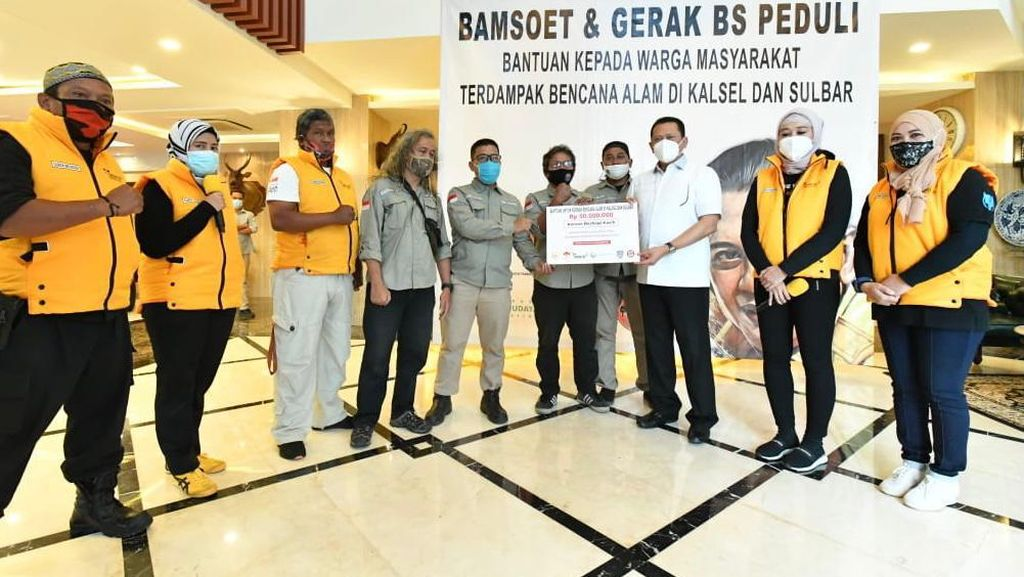 Ketua MPR Minta Satgas Adakan Swab Antigen Massal di Lokasi Bencana