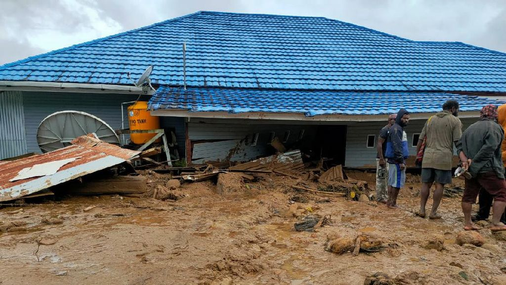 Banjir Bandang Terjang Kabupaten Paniai Papua, Begini Kerusakannya