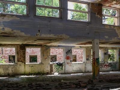 Gedung Nuklir Tersembunyi di Kota Hantu Polandia