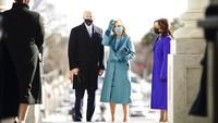Joe Biden Dilantik, Jill Biden Pakai Baju Buatan Brand Berskala Kecil