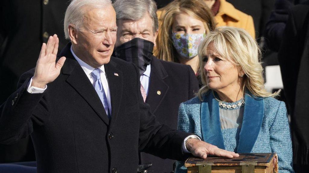 Serukan Made in America, Biden Disorot karena Pakai Jam Tangan Rolex