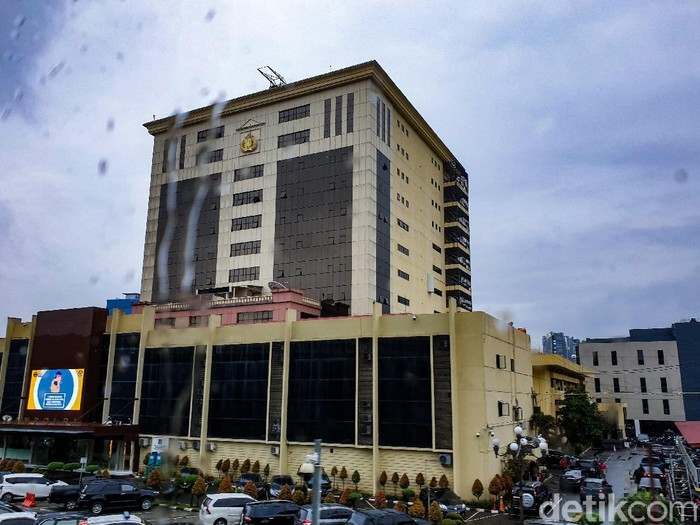 Ilustrasi Gedung Mabes Polri di Jakarta