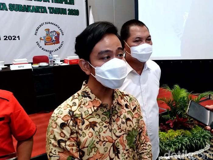 Gibran Rakabuming Raka-Teguh Prakosa resmi ditetapkan sebagai Wali Kota dan Wakil Wali Kota Solo terpilih, Kamis (21/1/2021).