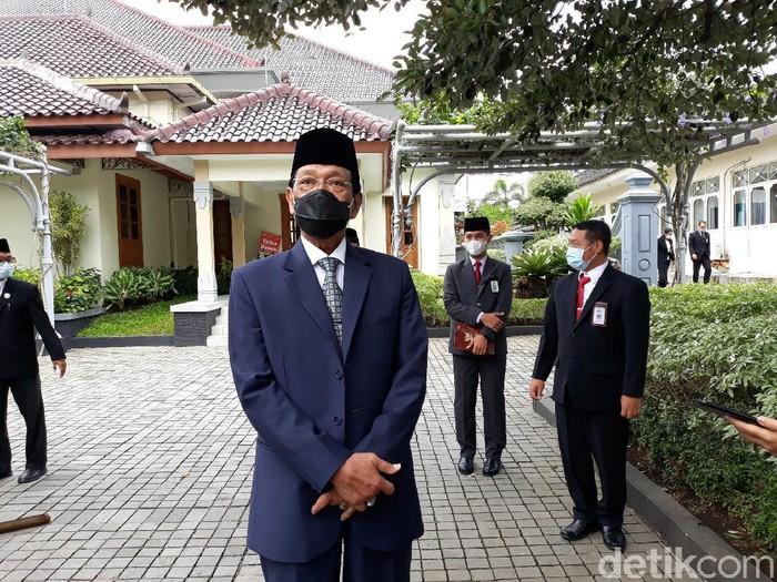 Gubernur DIY Sri Sultan Hamengku Buwono X, Kamis (21/1/2021).