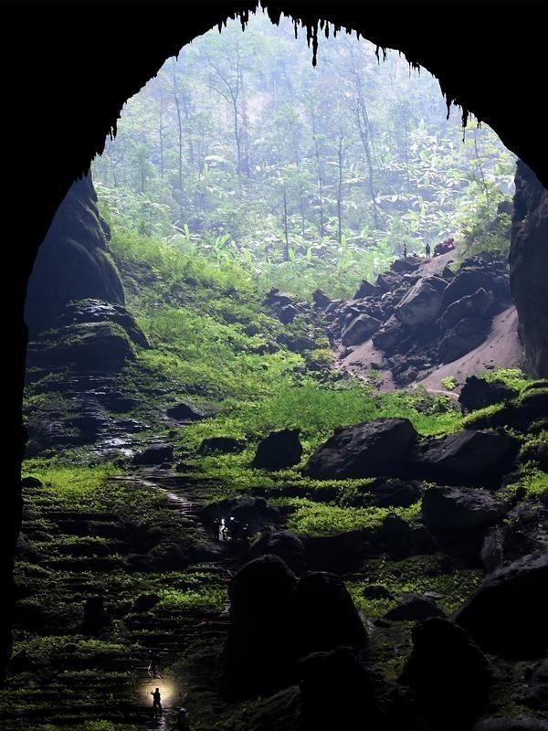 Han Son Doong, gua terbesar dunia di Vietnam seperti kembali berdenyut. (AFP)