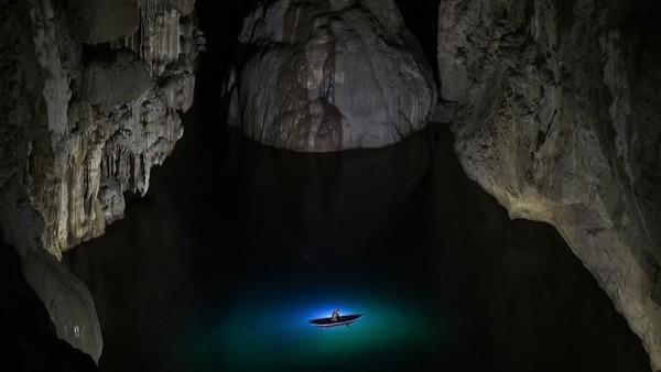Tadinya gua ini memang dikhususkan untuk wisatawan tajir.(AFP)