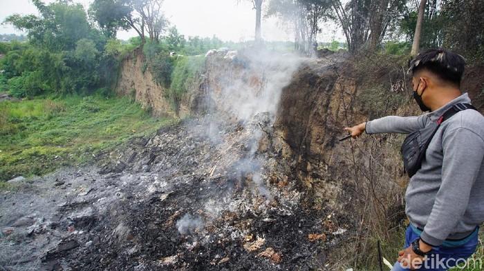 Ini Penampakan Lokasi Ledakan Keras yang Guncang Mojokerto
