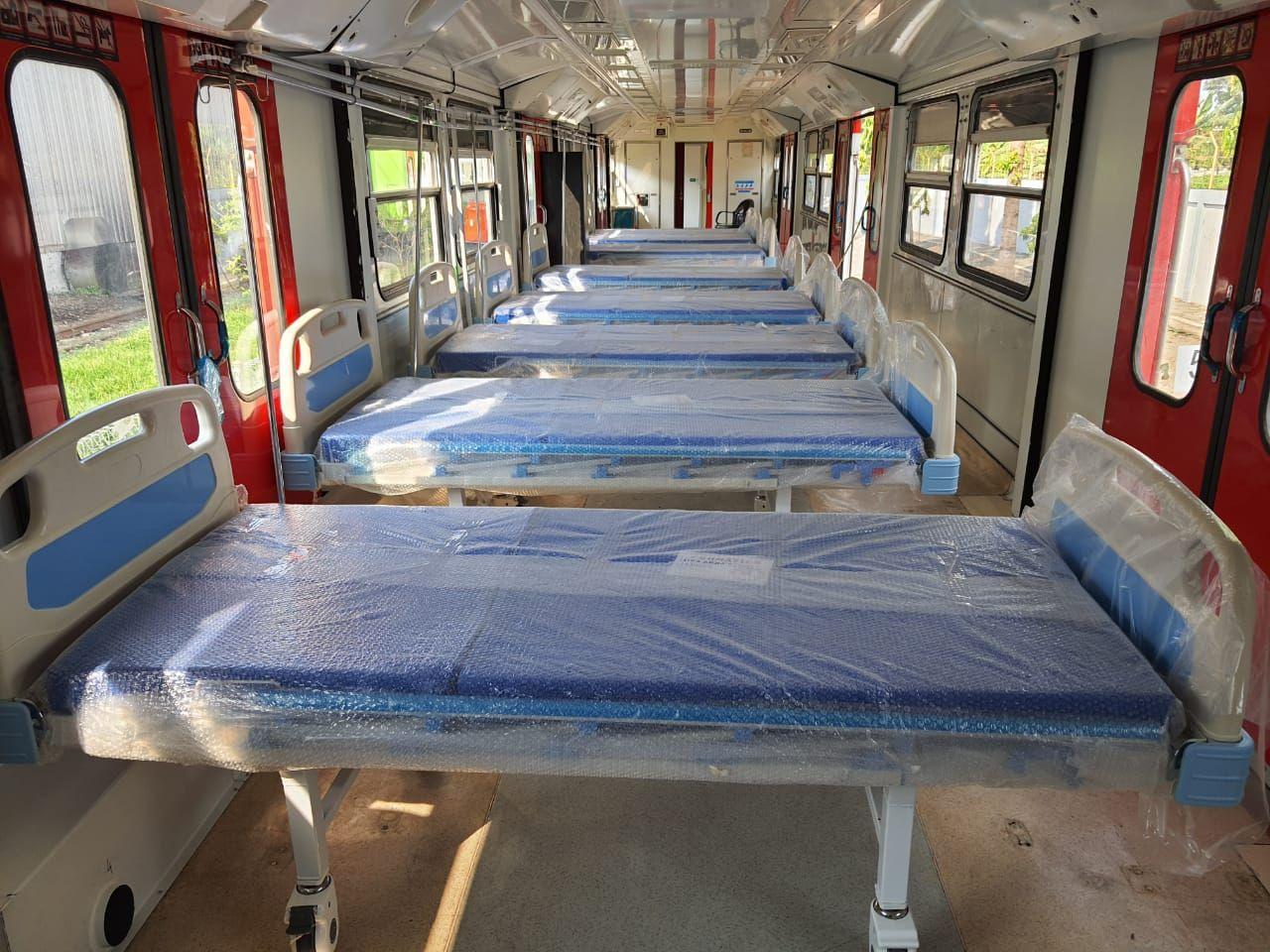 INKA Rombak Kereta Nganggur Jadi Tempat Isolasi Pasien COVID-19