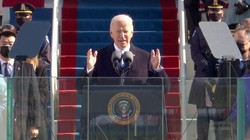 Ini Pidato Lengkap Joe Biden Usai Dilantik Jadi Presiden AS