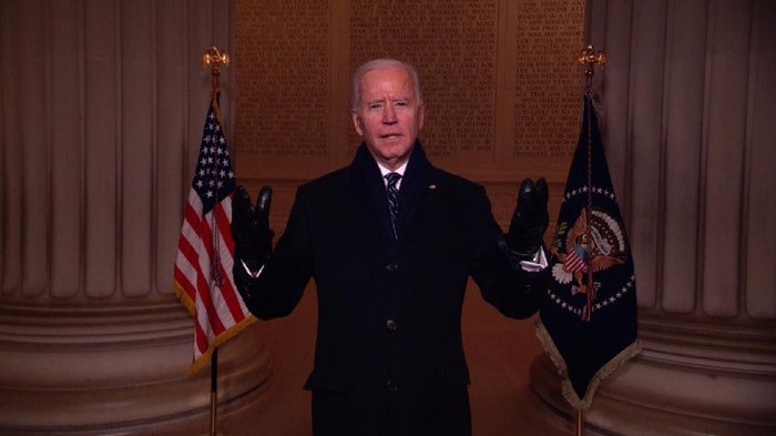 President Joe Biden. Source: Pool